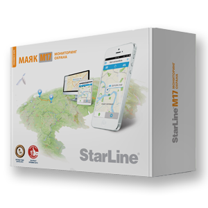 BARBUS. StarLine М17 GPS-ГЛОНАСС